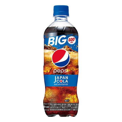 ペプシ コーラ〈生〉(600mL)