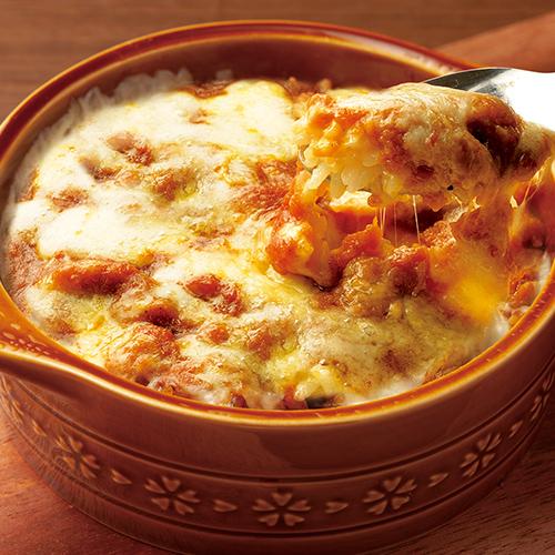 ラクレットチーズ焼きカレー