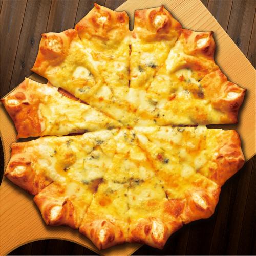 星型のピザ~リコッタチーズの入った4種のチーズ~