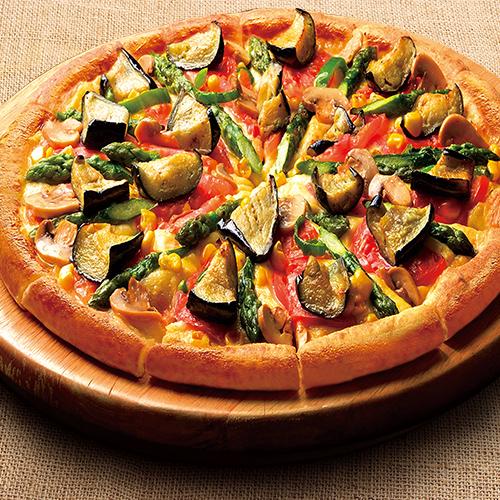 よくばり7種の野菜ピザDX(デラックス)
