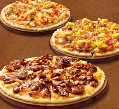 大好評の新商品ライスピザ!